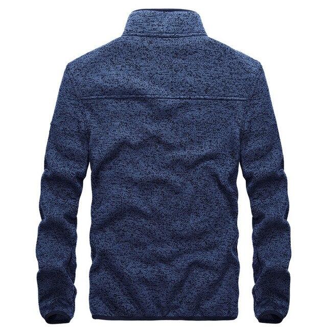 2018 New Top Quality Causal Men Jacket Stand Collar Men Coats Spring Autumn Jacket Men Coat Size M-3XL