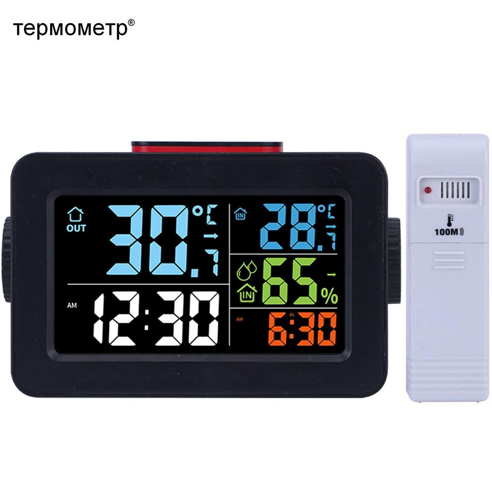 Outdoor, Temperature, Hygrometer, Table, Wake, Alarm