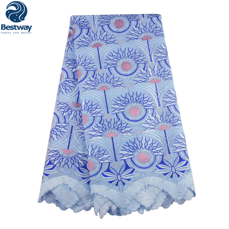 Bestway High Quality African Swiss Voile Lace 100 Cotton