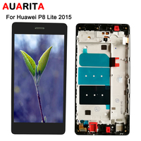 1pcs Lot LCD For Huawei P8 Lite LCD Display With Touch Screen Digitizer With Frame Assembly
