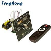 Tenghong Bluetooth 4.2 MP3 Decoder Board DTS Lossless Decoding Receiver Board APE WAV MP3 Player MP5 MTV HD Video Player Karaoke