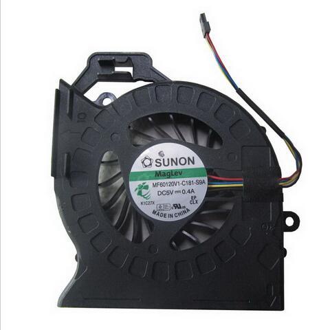 New original cpu cooling fan for HP DV6 DV6-6000 DV6-6050 DV6-6090 DV6-6100 DV7 DV7-6000 MF60120V1-C181-S9A MF60120V1-C180-S9A