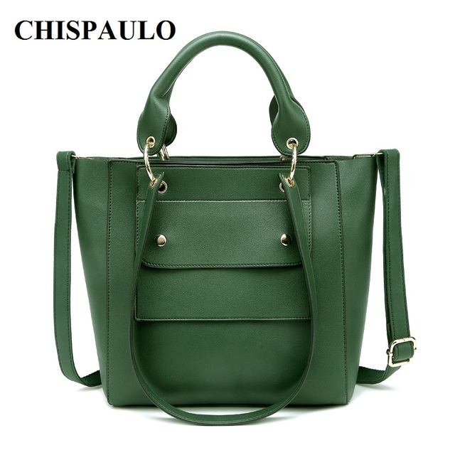 87cb96a7c34d CHISPAULO Famous Brands Women Genuine Leather Handbags women s handbag hand  bag set designer handbags high quality Vintage X89
