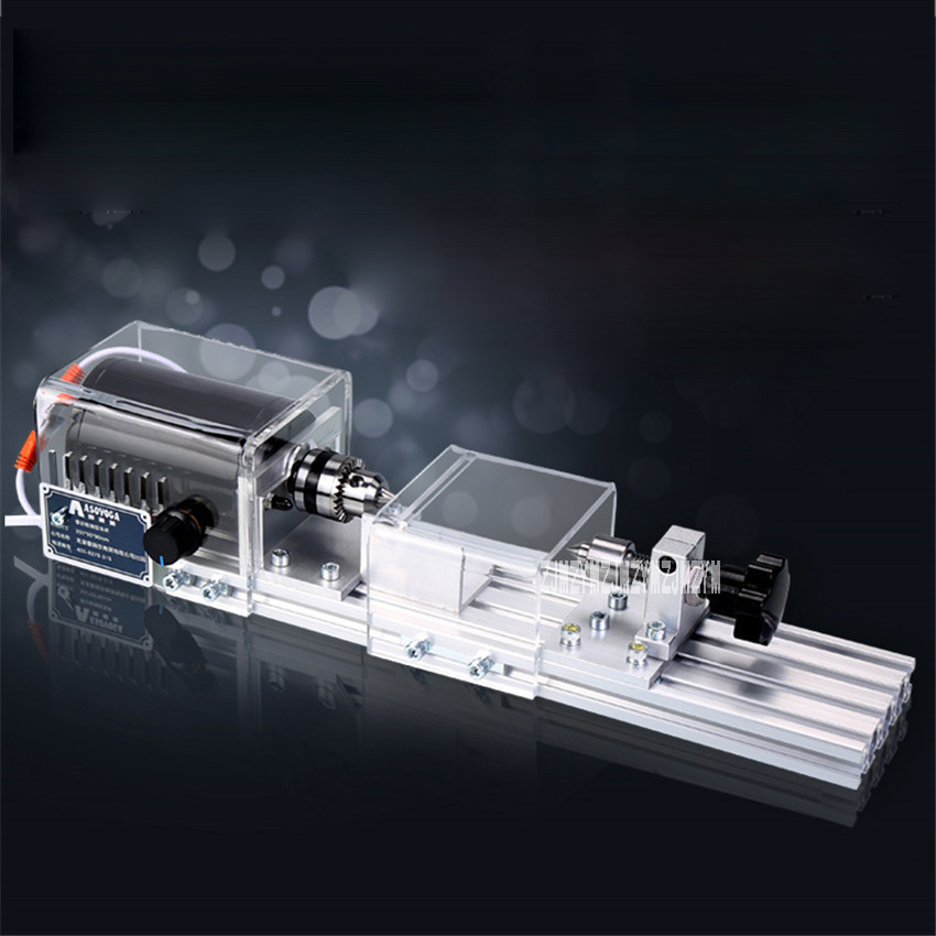 New Multifunctional Miniature lathe Woodworking Machine Polishing Small Beads Household DIY Wood Lathe 220v/110V 350W 8000r/Min edtid new high quality small commercial ice machine household ice machine tea milk shop