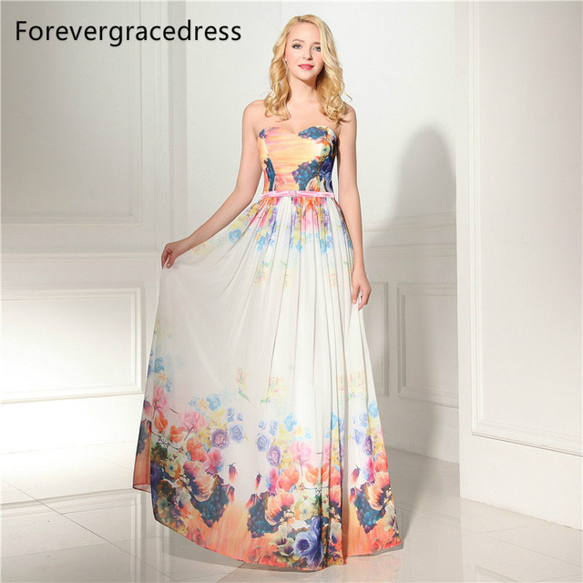 Forevergracedress Actual Photos Beautiful Evening Dress Sweetheart  Sleeveless Sashes Formal Party Gown Plus Size Custom Made 6bbd6a4fa4de