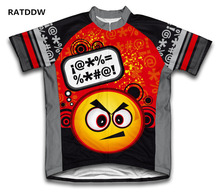 Angry Thinker Cycling Jersey short sleeve Bike Cycling Clothing Ropa Cislismo Men and Women summer bicycle clothes sportwear