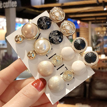 Woman Vintage Hairpins Girls Hair Accessories Crystal Barrettes Ladies Clips Fashion Hairgrips Femme