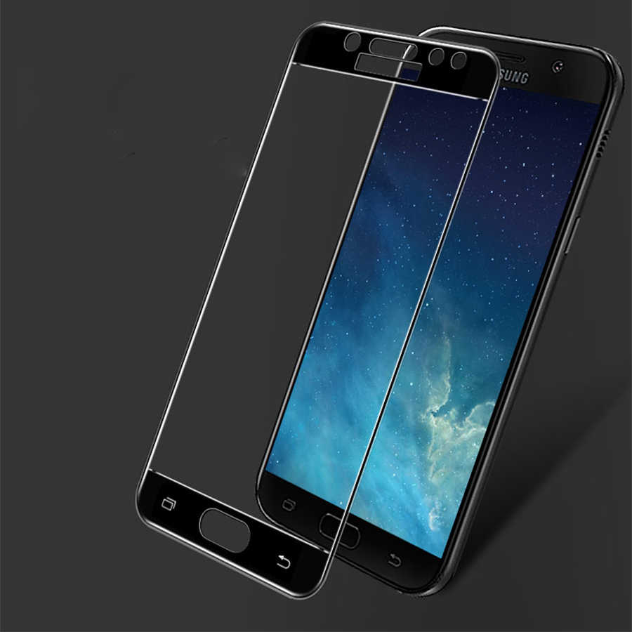 Tempered Glass For Samsung Galaxy J5 2017 Case Full Cover Screen Protector For Samsung Galaxy J5 2017 Glas J 5 J530 J530F Film