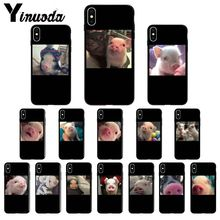 11pro MAX Cute Pig Print  Customer High Quality Phone Case for Apple iPhone 8 7 6 6S Plus X XS MAX 5 5S SE XR Cover yinuoda demi lovato customer high quality phone case for apple iphone 8 7 6 6s plus x xs max 5 5s se xr mobile cover