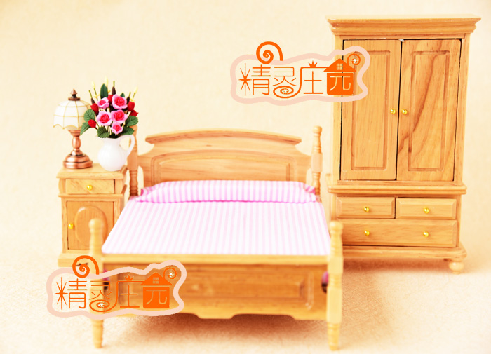 Kids Bedroom Furniture Kids Wooden Toys Online: G05 X4306 Children Baby Gift Toy 1:12 Dollhouse Mini