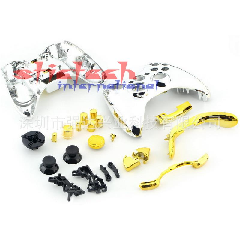 by dhl or ems 20 pcs Full Shell Housing with Full Chrome Gold ...