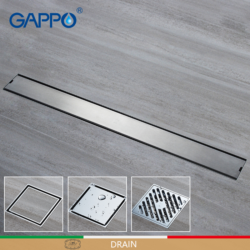 GAPPO Drains Anti-odor Bathroom shower Floor Drainers bath drainer stopper Bathroom Shower Drainers Strainers