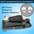 Body Protection Pad + Blade Propeller Pad Heightening Pad for DJI Mavic Pro Dirt-Proof Wearproof Scratch-Resist