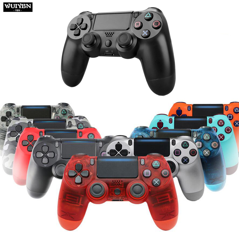 WUIYBN P4 Wireless Bluetooth 4.0 Gamepad Joystick For PS4 Controller DualShock 4 Gamepad PlayStation 4
