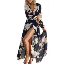 style chic style sexy split print ankle length woman dresses spring and autumn long sleeve v-neck price chiffon female dresses spring and autumn velvet solid sexy v neck split party woman dresses european style empire long sleeve velvet mini dresses 90s