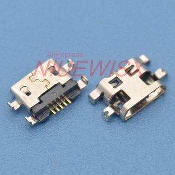 10 шт., разъем Micro USB для зарядки Lenovo A708t S890, HuaWei G7, Alcatel 7040N, 1,2 дюйма