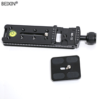 150mm Nodal Slide Rail Quick Release Plate Clamp Adapter For Macro Panoramic Arca Aluminum Alloy Quick