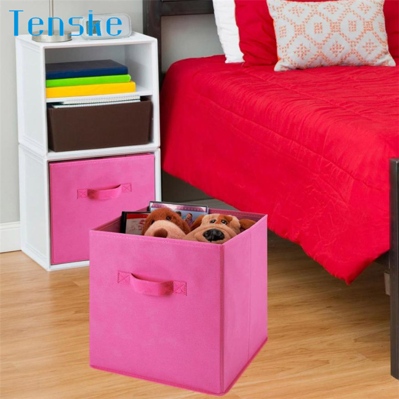 Foldable Storage Collapsible Storage Box Home Toy Clothes Organizer ...