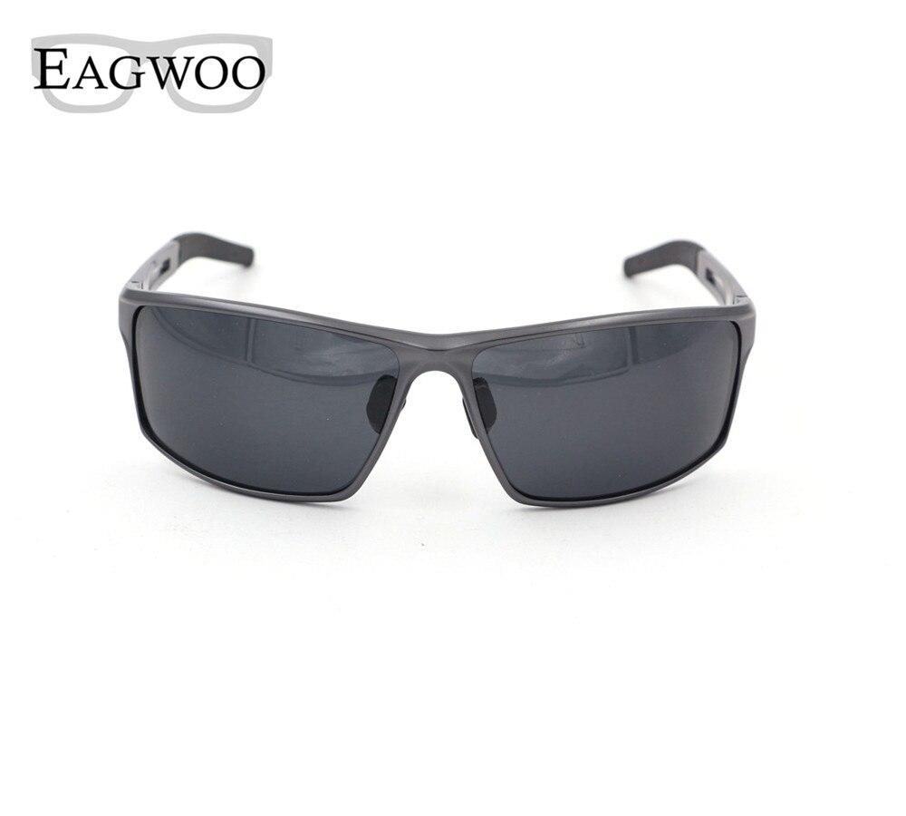 Polarized Sunglasses Men Aluminium Magnesium Super light Pilot Sun Glasses Anti Glare De Sol Masculin 8571