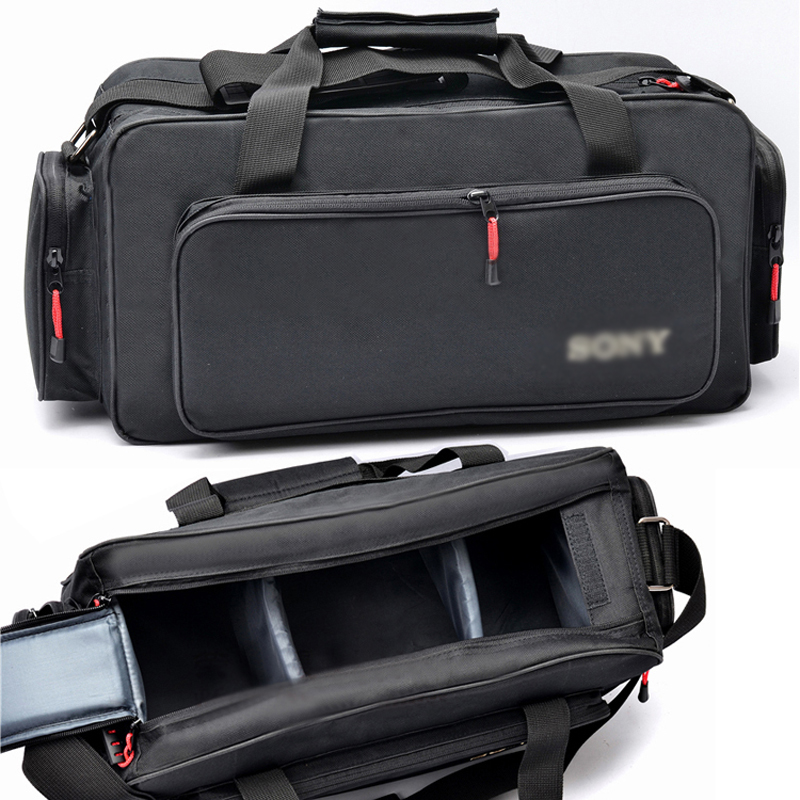 Roadfisher Waterproof Camcorder Bag Shoulder Carry Case For Sony Dsr Pd190p 198p Hdr Fx1e