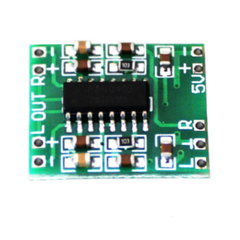 2pcs Super Mini Class D Low Noise Audio Amplifier Board 2*3W Dual-Channel Digital Stereo USB Powershare image