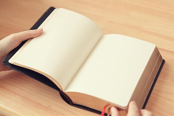Vintage Қалың Былғары Киелі Ноутбук - Блокноттар мен жазу кітапшалары - фото 5