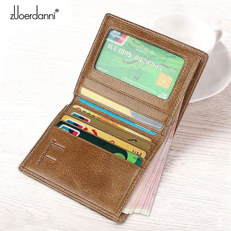 Tunna Wallet Men Små Plånböcker Kvalitet Läder Korta Purse Man - Plånböcker - Foto 3