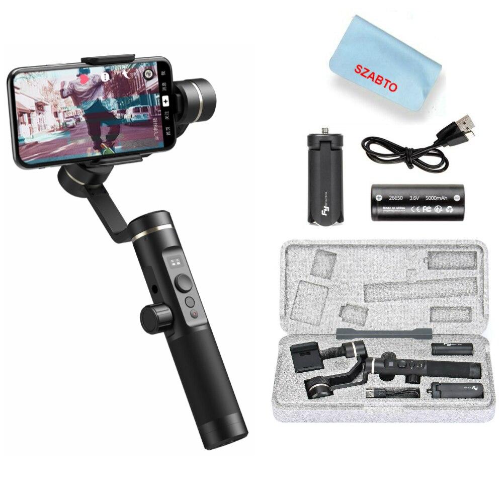 FeiyuTech SPG 2 3-Axe stabilisateur de cardan Éclaboussures pour iphone Xs Max X 8 7 Plus Samsung S8 S9 caméra d'action gopro 7 6 Nouveau G6