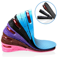 2017 Hot Sale 1 Pair Height Increase Insole Men Women Height Increase Insoles Adjustable Sports Shoes