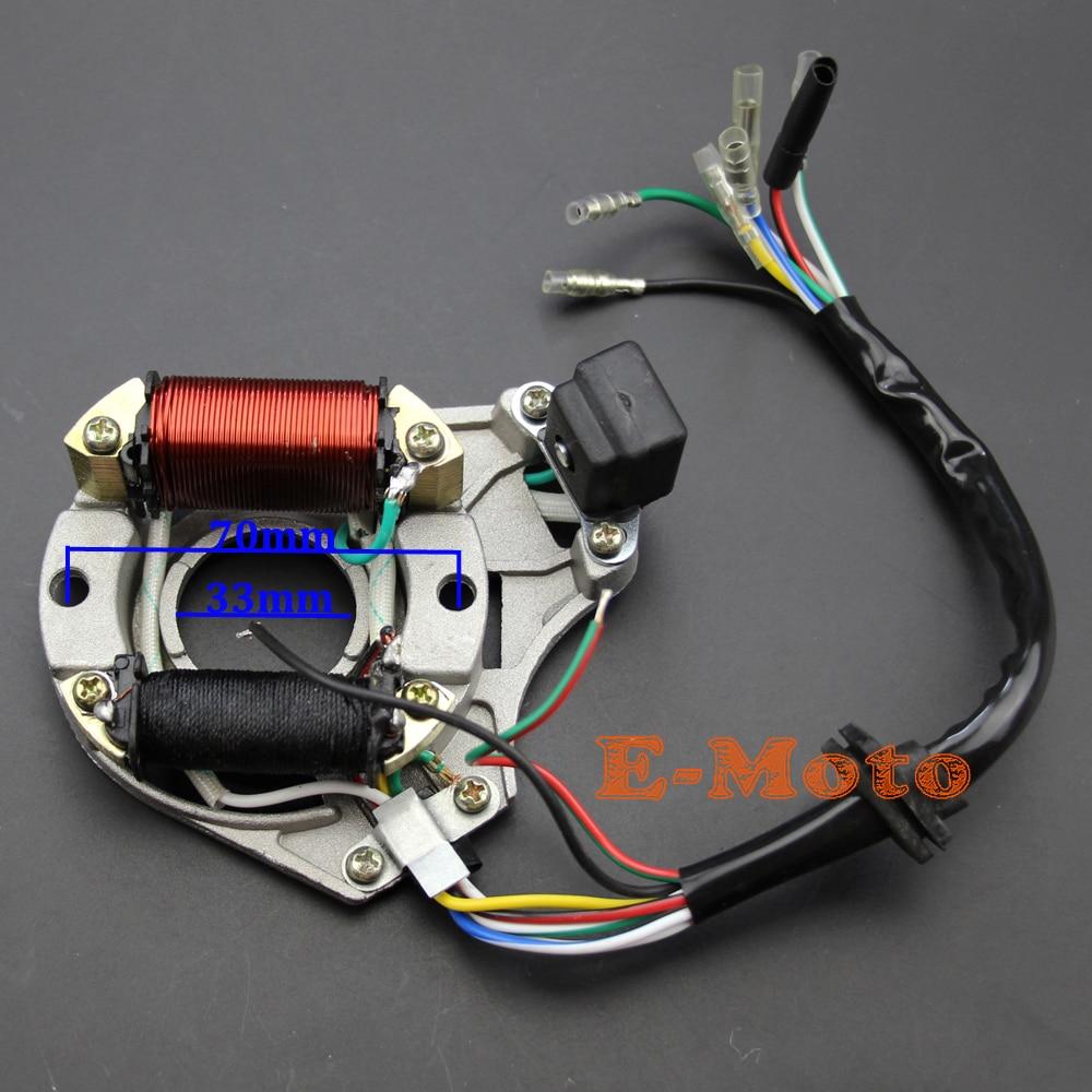 hight resolution of automotive new complete main wiring harness assembly honda style horizontal atv dirt bike 70cc 110cc