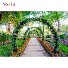 Yeele Wedding Ceremony Flowers Gallery Love Road Photography Backdrops Personalized Photographic Backgrounds For Photo Studio