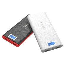 Оригинал Pineng 20000 мАч PN920 Портативный мобильный Мощность Bank Dual USB Выход Мощность банк со светодиодным индикатором для IPhone Xiaomi телефоны