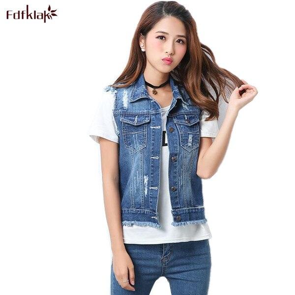 3XL 4XL 5XL Plus Size Denim Jacket Women Korean