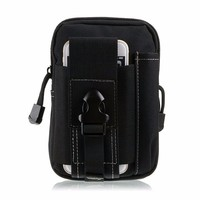 Outdoor Sport Holster Hip Waist Belt Wallet Phone Case Cover Bag Pouch For Fly IQ4504 EVO