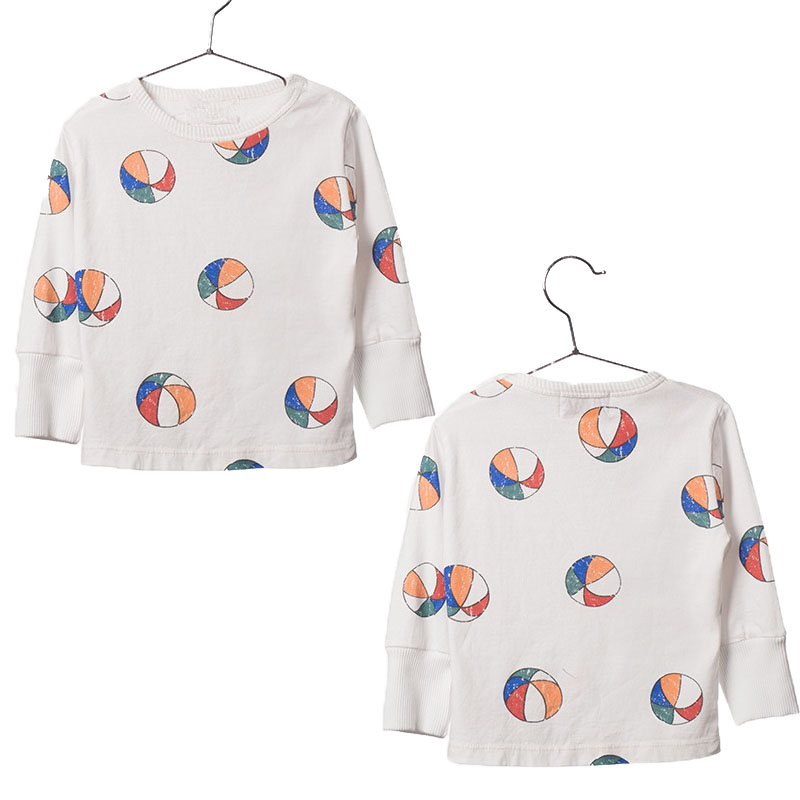 Fashion Kids Boys Cotton T Shirts Girls Long Sleeve Tee