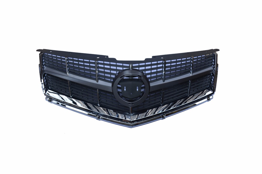 Front Upper Bumper Radiator Hood Grille Grill New for Cadillac SRX 2010-2012