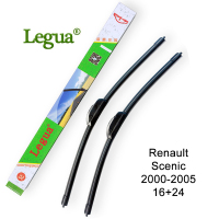 Legua Car Windscreen Wiper Blade For Renault Scenic 2000 2005 16 24 Car Wiper Rubber Frameless