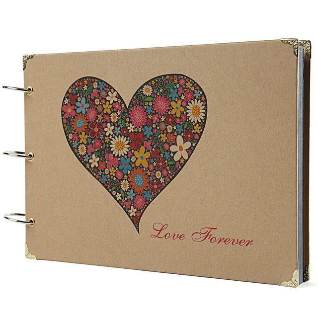 Scrapbook Photo Album Anniversary Scrapbook Diy Photo Albums Vintage