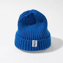 Womens Beanie Hat Autumn Winter Women Knitted Brimless cap Watch Cap for Girls Skull Hats Female 2019