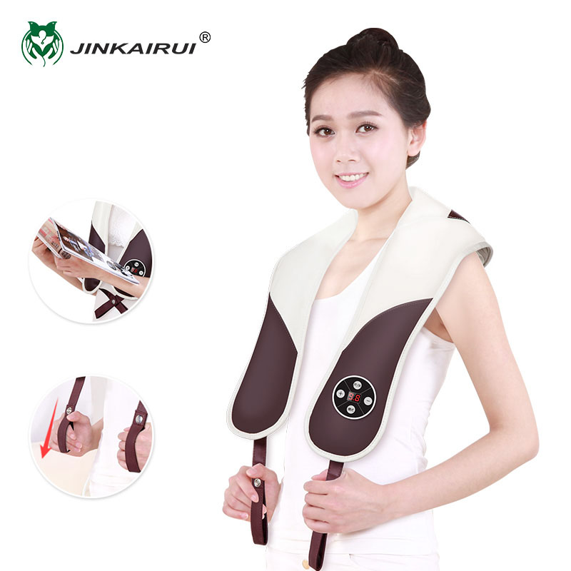 Jinkairui Multifunction Electric Back Tapping Massager Beat Cervical Knocks Massage Shawl Homecare For Massage Customer RelaxJinkairui Multifunction Electric Back Tapping Massager Beat Cervical Knocks Massage Shawl Homecare For Massage Customer Relax