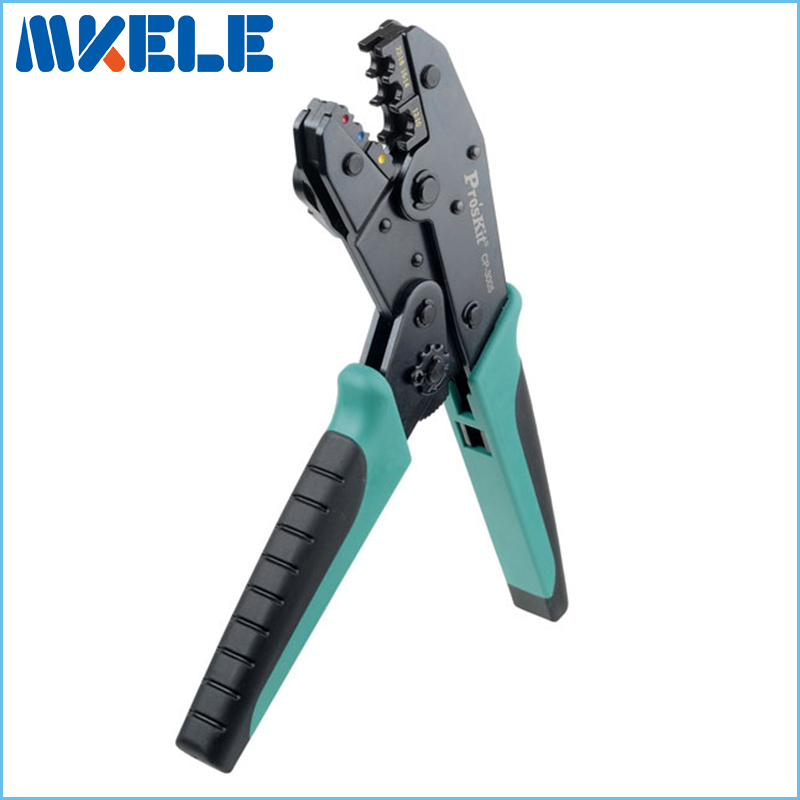 ФОТО CP-3005F Crimping Pliers Ratchet Cable Wire Stripper Crimping Pliers Terminal Tool Multifunctional Pliers