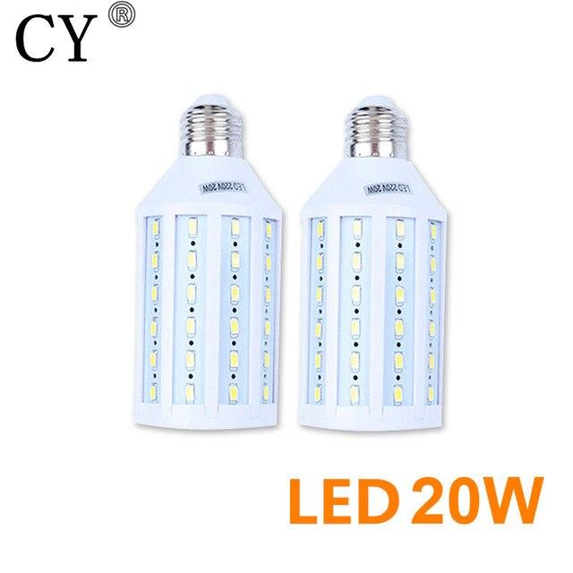 2pcs Photo Studio E27 20W 220v Bulb LED Video Light Corn Lamp Bulb & Tubes Photographic Lighting