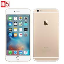 """סמארטפון מקורי Apple iphone 6 בתוספת SmartPhone Wifi יחיד Sim כפול ליבת 16G/64/128GB ROM IOS 8MP וידאו LTE טביעות אצבע 5.5"""""""