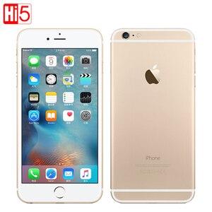 "Image 1 - Unlocked Original Apple iphone 6 Plus SmartPhone Wifi Single Sim Dual Core 16G/64/128GB ROM IOS 8MP Video LTE Fingerprint 5.5"""