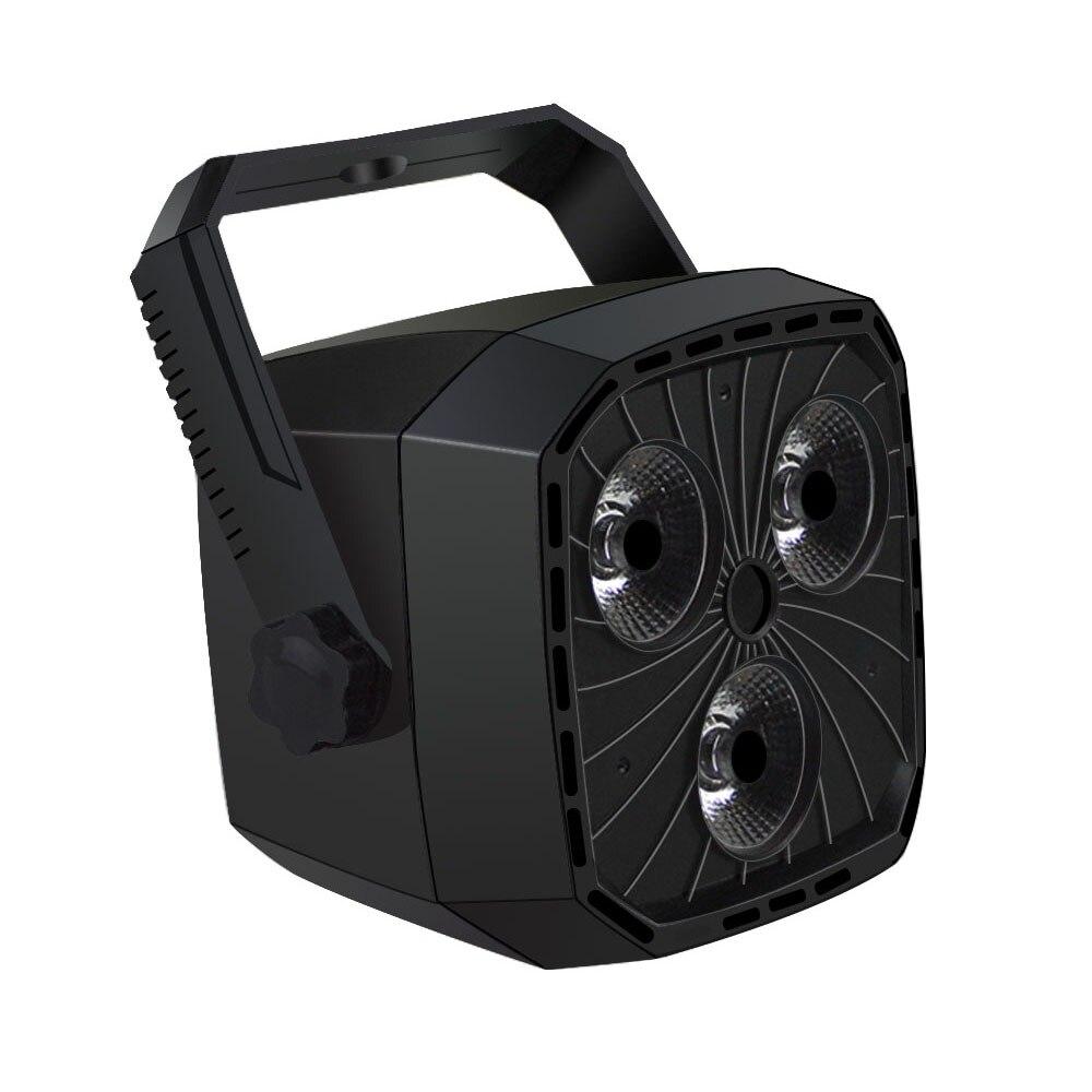 DMX512 RGB Disco Light 12W 220V 110V Par DJ Light 12 LEDs Christmas Party Halloween Wedding LED Stage Lighting Projector цена