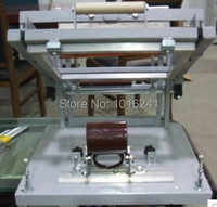 Cylindrical screen printing machine large model for pen printing, mug printing, bottle printing model 1+ mug clamp fixture