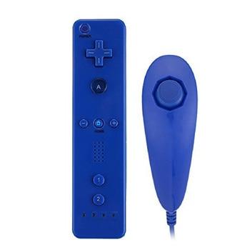 JESBERY Kablolu bilgisayar oyunu denetleyicisi ile sol sağ gamepad durumda Nunchucks için çift şok Nintendo wii oyun konsolları