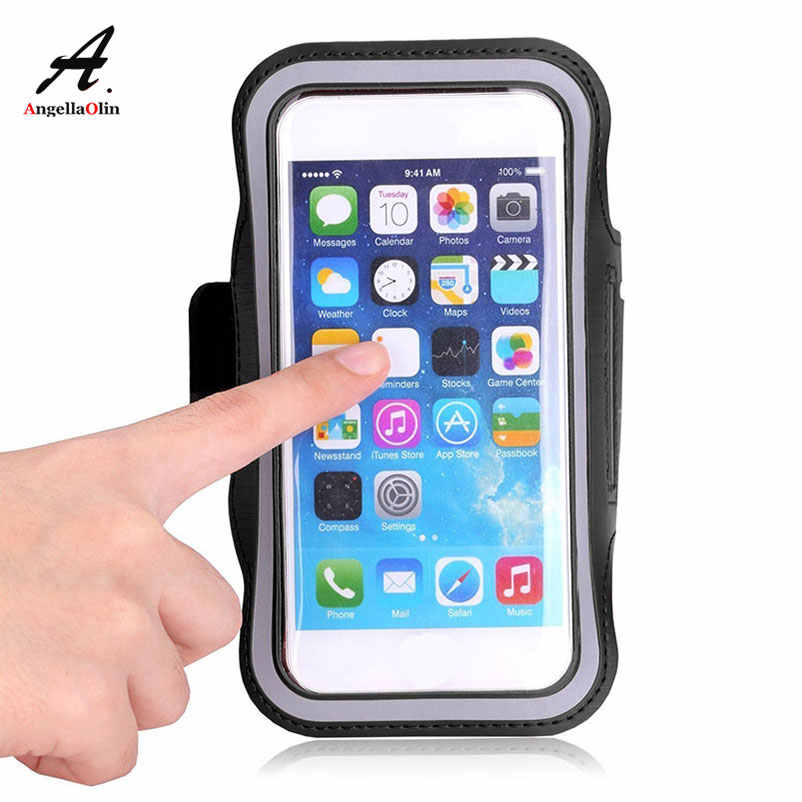 Black Waterproof Armbands Gym Run For Xiaomi Mi 6X mix 2s a1 Redmi Note 5 s2 5 plus 4x 5a Case Arm Band 1 2 3 Bag cover Phone