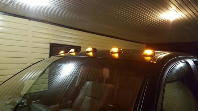 5pcs / set Amber 16-LED oznaka krovne kabine automobila za vanjska - Svjetla automobila - Foto 5