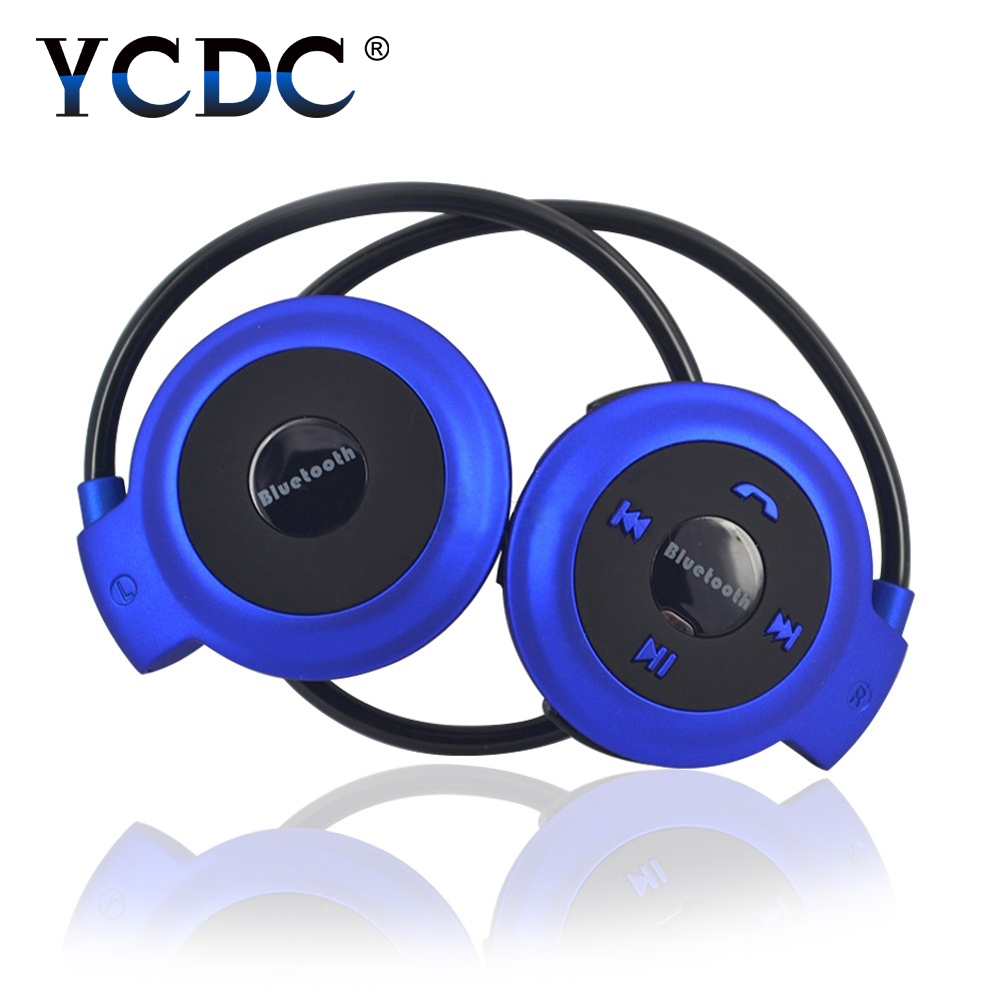 YCDC Mini503 Wireless Bluetooth Noise Isolating Microphone Support SD Card Headphones Sport Music Stereo Earpics Micro headset aimitek sport wireless bluetooth headphones stereo earphones mp3 music player headset earpiece micro sd card slot handsfree mic